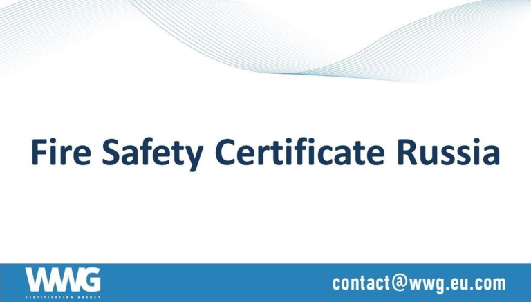 """Federal Law No. 123-FZ Technical Regulation of fire safety & EAC Certificate TR CU 043/2017 """"On requirements for fire safety and firefighting means"""