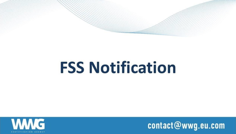 FSS Notification (FSB notification) and FSS Exemption letter