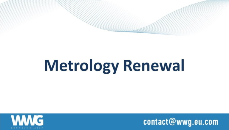 Renewal of Metrology Pattern Approval (MPA, PAC)
