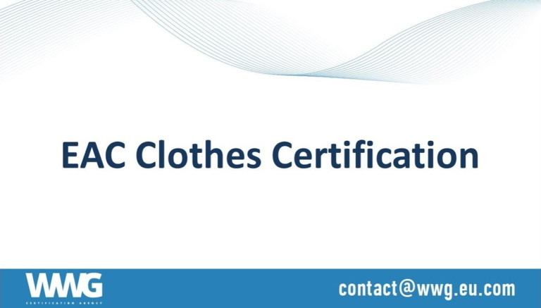 TR CU 017/2011 Light industry products (EAC certification of clothing)