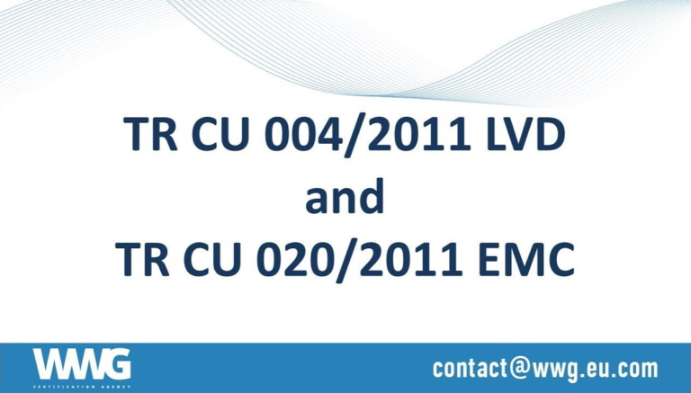 ТR СU 004/2011 On safety of low-voltage equipment & ТR СU 020/2011 Electromagnetic compatibility of technical means